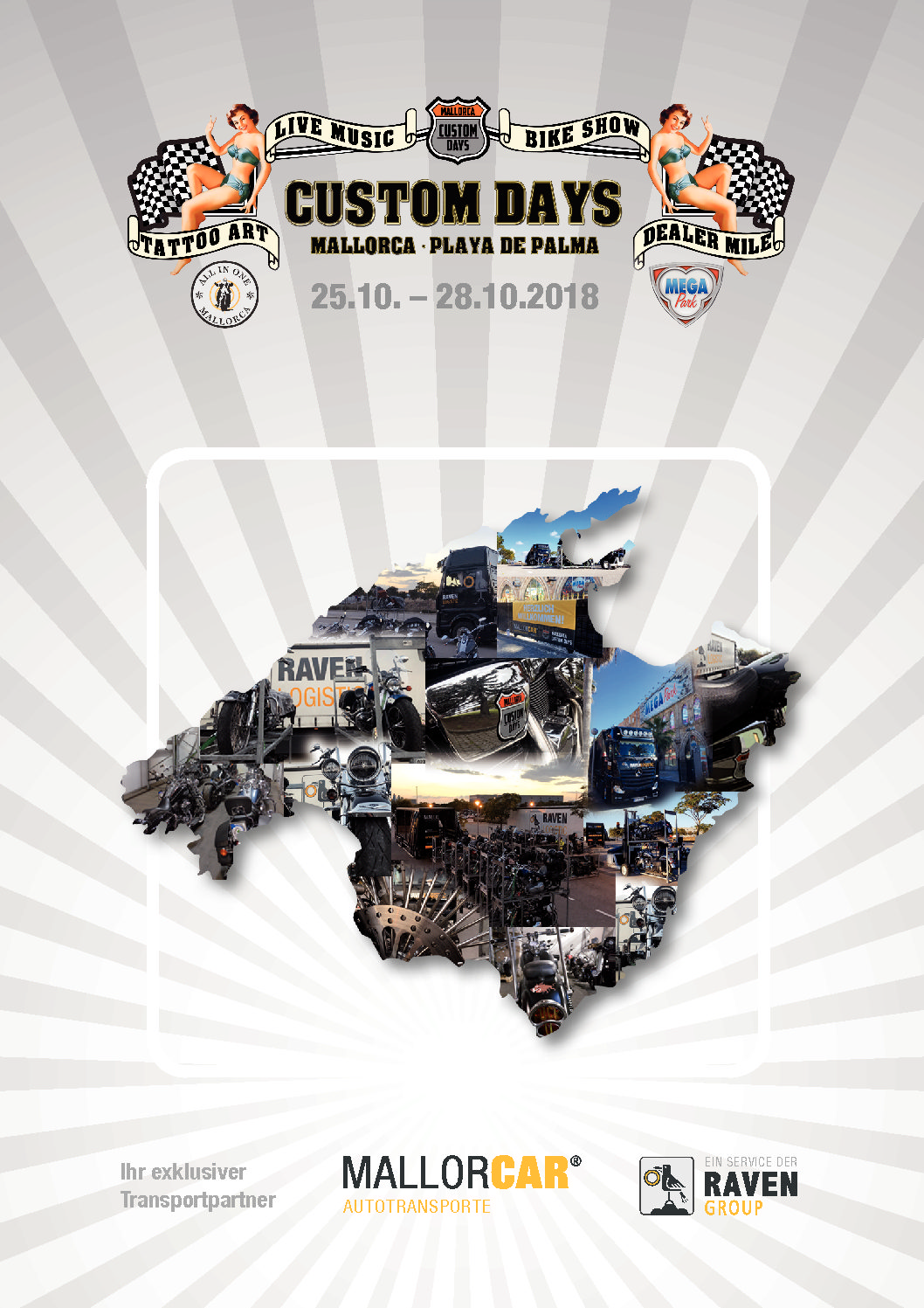 CUSTOM DAYS MALLORCA 2018 - MALLORCAR® - Transport