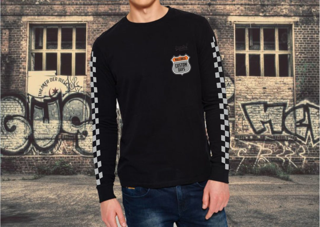 Herren-T-Shirt 4th Custom Days Mallorca Long Sleeve