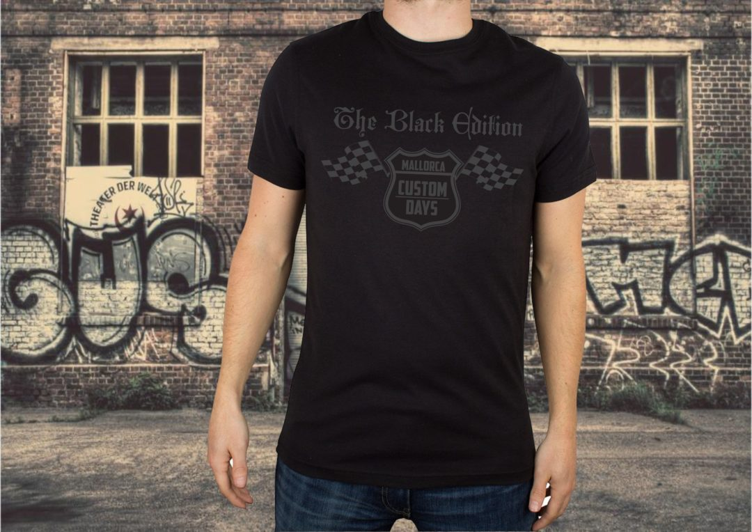 Herren-T-Shirt BLACK EDITION
